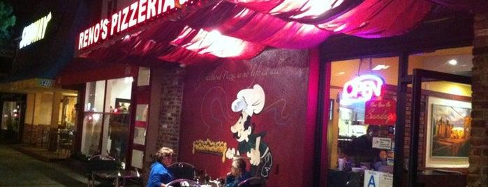 Reno's Pizzeria is one of Craig's LA List.