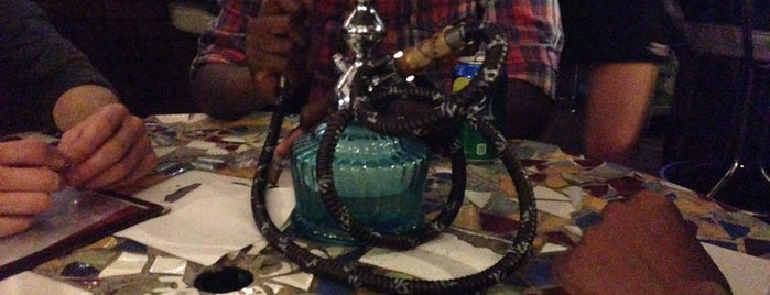 Hub Hookah Lounge is one of Places to check out....