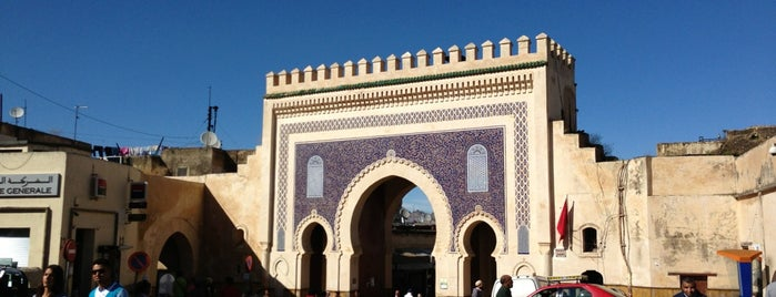 Bab Boujloud باب أبي الجلود is one of Morocco.