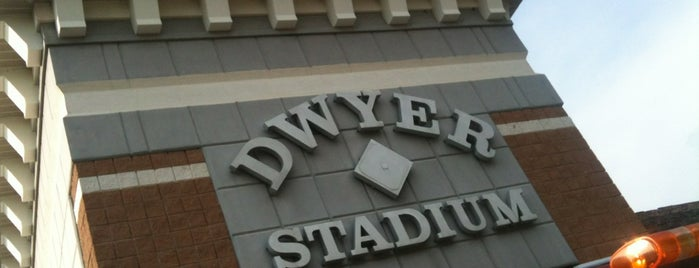 Dwyer Stadium is one of NY Roadtrip.
