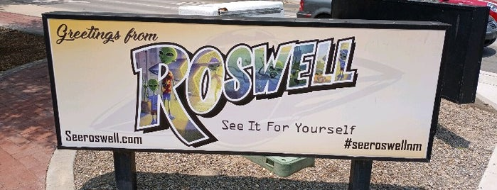 Roswell Visitor Center is one of New Mexico Adventure.