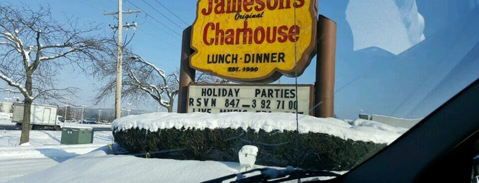 Jameson's Charhouse is one of Action Heights.