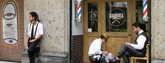 Barbería Capital (Roma) is one of Quiero!.