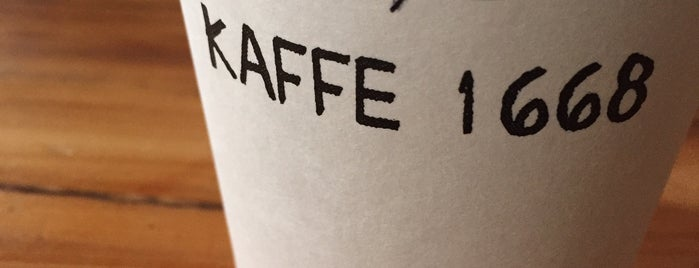 Kaffe 1668 is one of Lower Manhattan.