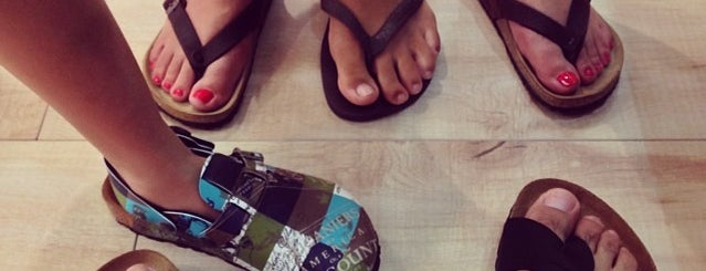 Birkenstock is one of Isabel 님이 좋아한 장소.