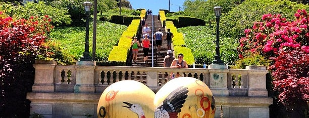 Lyon Street Steps is one of San Fran.