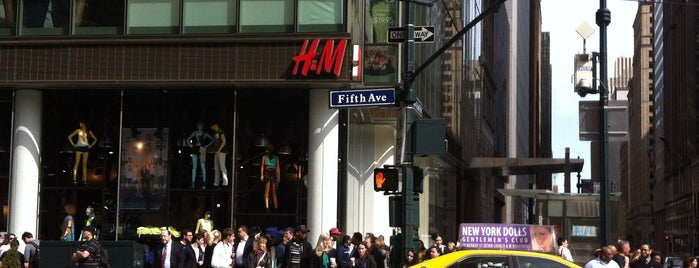 H&M is one of new York.