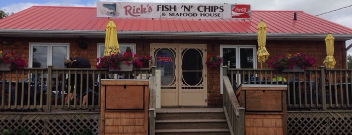 Rick's Fish & Chips is one of pick up.