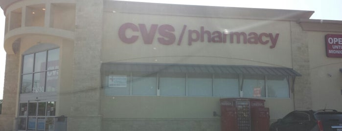 CVS pharmacy is one of Kim's Liked Places.