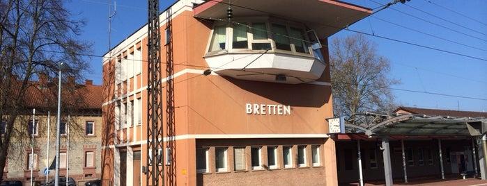Bahnhof Bretten is one of Tempat yang Disukai Johannes.