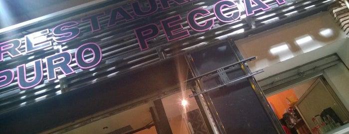 Restaurante Puro Pecato is one of Locais curtidos por Miguel.