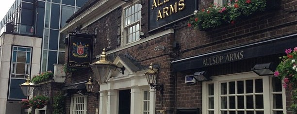 The Allsop Arms is one of London Pubs.
