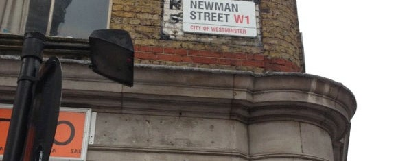 Newman Street Tavern is one of London food.