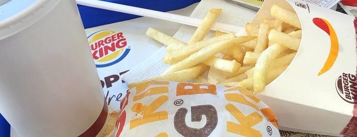 Burger King is one of Orte, die Fadik gefallen.