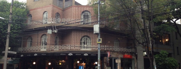 Caffé Toscano is one of THINGS TO CHECK OUT IN MEXICO CITY.