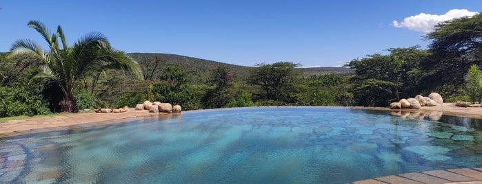 Cottars Safaris Lodge is one of Kenya.