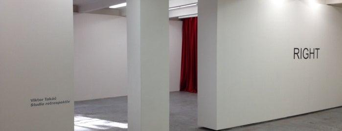 Galerie Jiří Švestka is one of Galerie v Praze (Galleries in Prague).