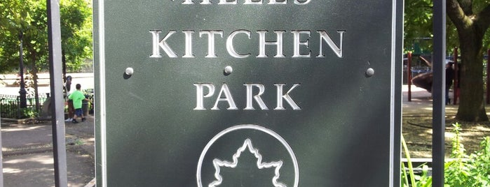 Hell's Kitchen Park & Playground is one of NY attractions & museums.