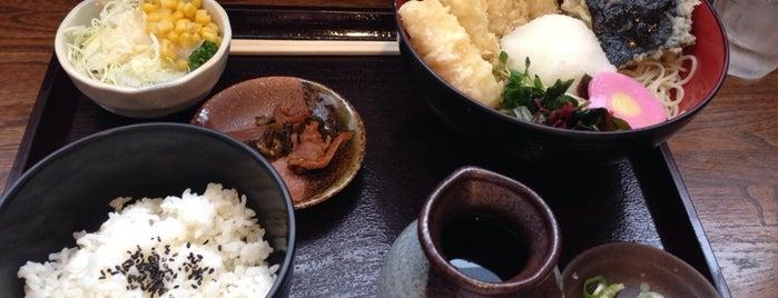 真御膳そば 正直家 東雁来店 is one of 蕎麦屋.