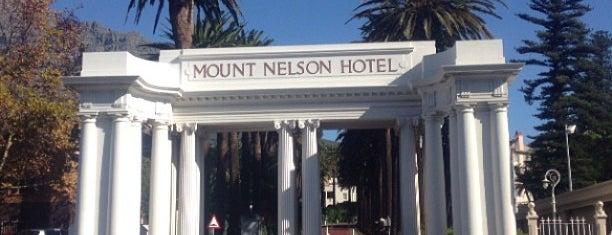 Belmond Mount Nelson Hotel is one of Belmond Hotels List.