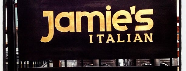 Jamie's Italian is one of london.