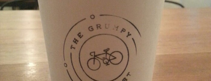 The Grumpy Cyclist is one of Kopi Places.