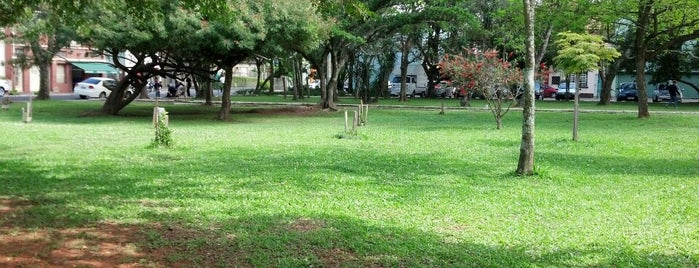 Praça da Biblioteca is one of Playgrounds.