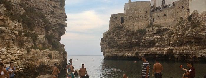 Spiaggia di Polignano is one of Italia: south.