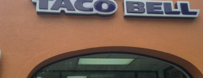 Taco Bell is one of Lieux qui ont plu à Chris.