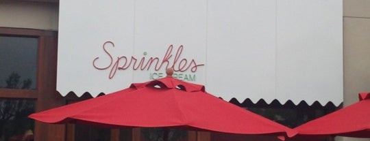 Sprinkles Ice Cream is one of California OC.