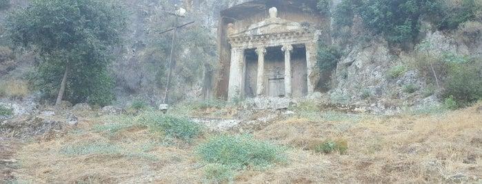 Fethiye Kral Mezarları is one of Fethiye/Meğri ⛵️.