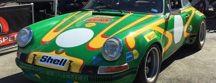 WeatherTech Raceway Laguna Seca is one of Lugares favoritos de Michael.