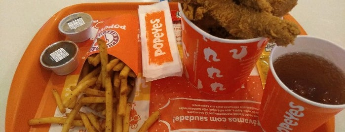 Popeyes Louisiana Kitchen is one of SP Carnes.