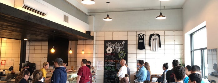Cleveland Bagel Company is one of Tempat yang Disukai Cole.