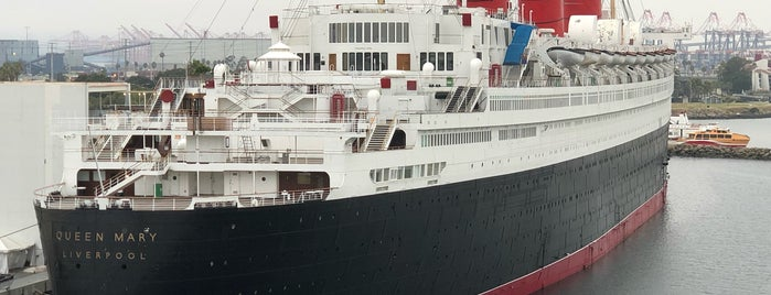 The Queen Mary is one of Ryan : понравившиеся места.