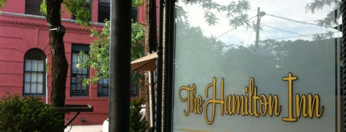 The Hamilton Inn is one of Best Places to Dine Out in Downtown Jersey City.
