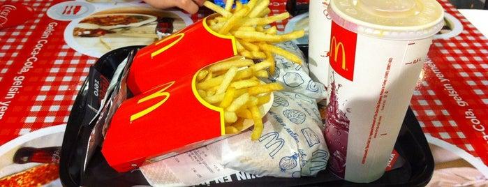McDonald's is one of Tempat yang Disukai H.