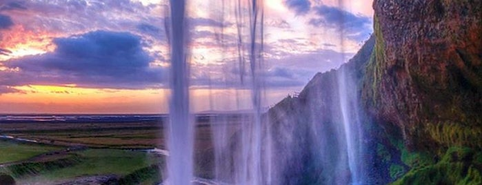 Seljalandsfoss is one of Iceland things.