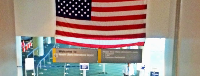 US Customs and Border Protection is one of EWR Terminal C.