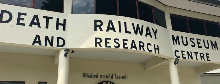 Thailand-Burma Railway Centre is one of Kanchanaburi.