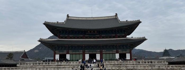 Geunjeongjeon is one of Korea and JP.