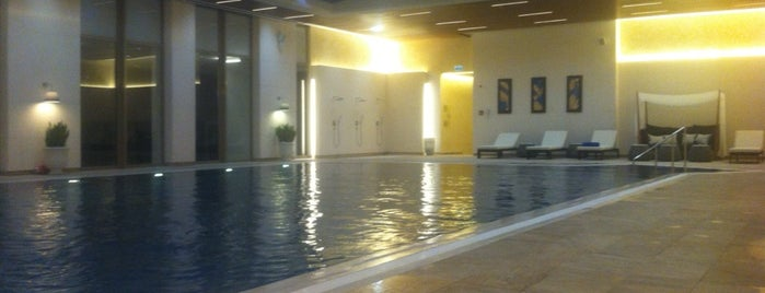 Marriott Health Club Fitness & Spa is one of Mujdat : понравившиеся места.
