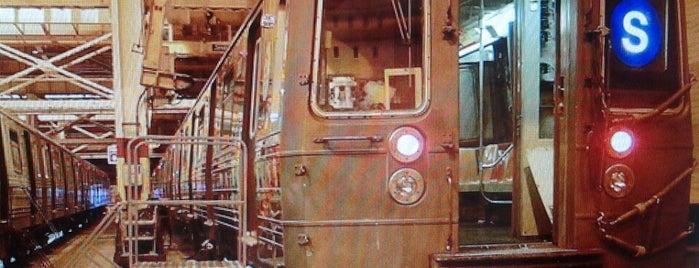 MTA - Coney Island Overhaul Shop is one of MTA.