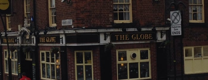 The Globe is one of Pubs I've visited.