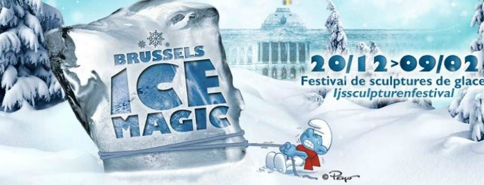 Brussels Ice Magic is one of Lieux qui ont plu à VISITBRUSSELS.