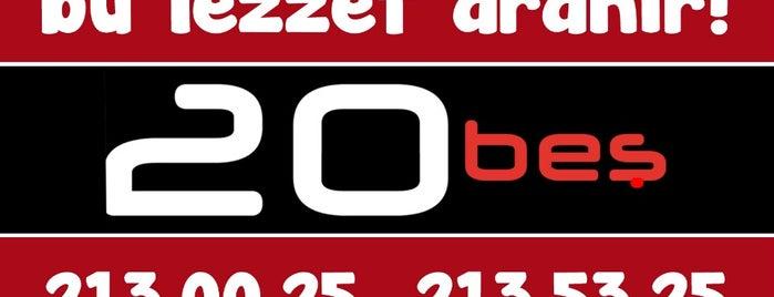 20beş is one of Locais curtidos por Sinan A..