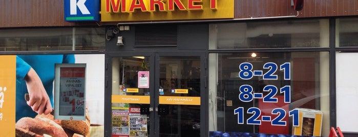 K-market Albertin Herkku is one of Posti che sono piaciuti a Petter.