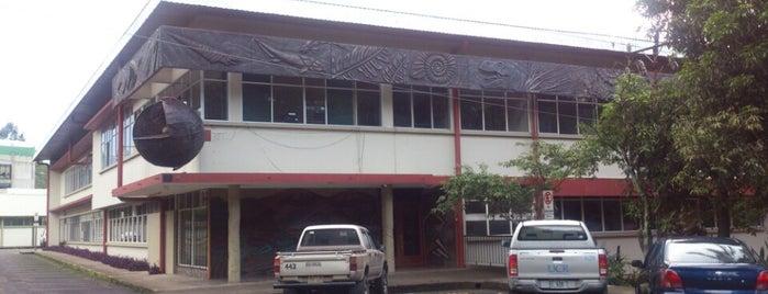 Escuela Centroamericana de Geología is one of UCR.
