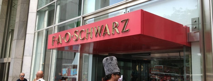 FAO Schwarz is one of New York Places.