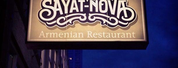 Sayat Nova is one of United Mileage Plus Dining Spots.
